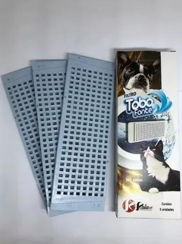 Refil Filtro Fonte Raia Pet Para Cães E Gatos Kit Com 3