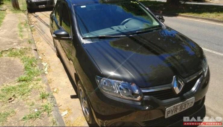 Renault Logan Authentic HI Flex 1.6 8v Ano 2016 única dona