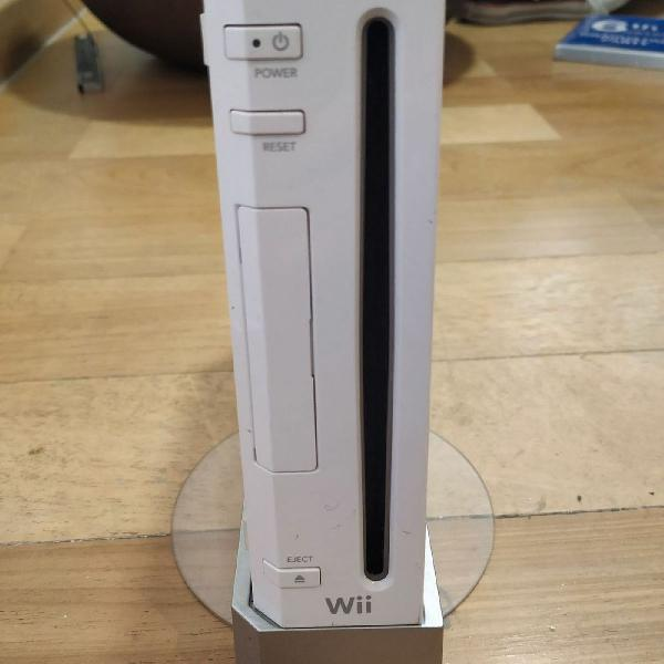 Wii desbloqueado + 17 jogos originais