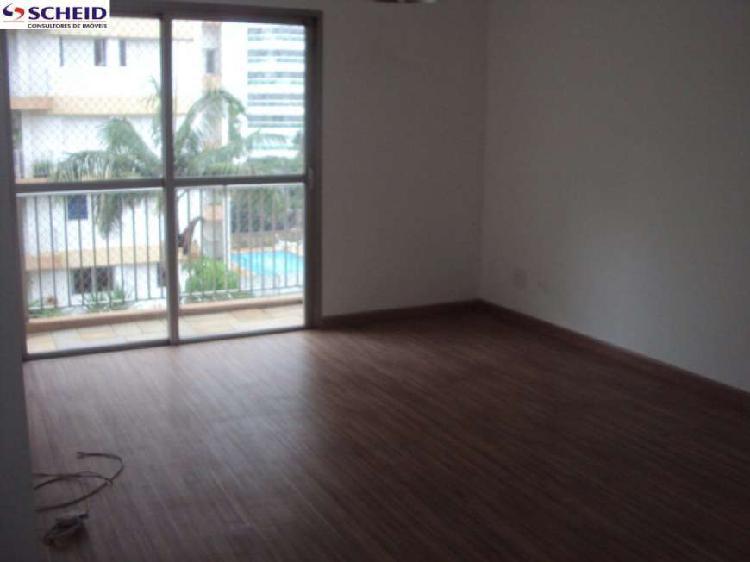 Apartamento 104 m²: 3 dorms, 1 suíte, 3 banheiros, 2