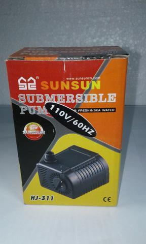 Bomba Submersa Sunsun Hj-311 300l/h 2w Para Aquários Fontes