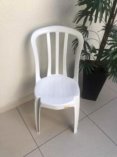 Cadeiras De Plástico Bistrô Goiania 10 Unidades P/182 Kg
