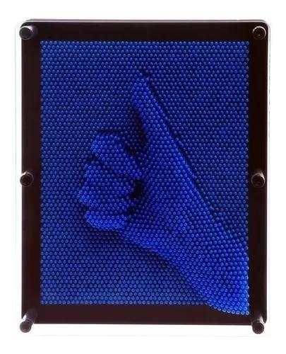 Captador De Imagens 3d Pinart Azul Extra Grande 20x15x4 Cm