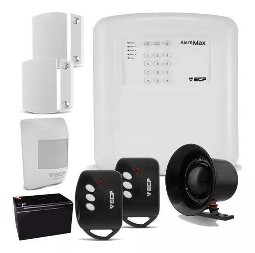 Kit Alarme Residencial Casa Comercial Ecp S