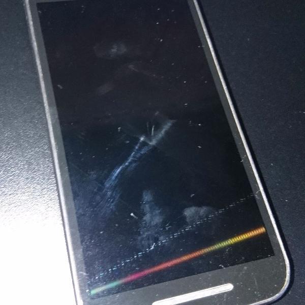 Moto G3 azul 1GB sem carregador