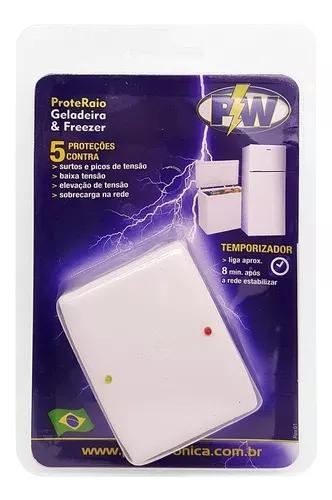 Protetor Contra Raios Surtos 5x1 Geladeira & Freezer 127v
