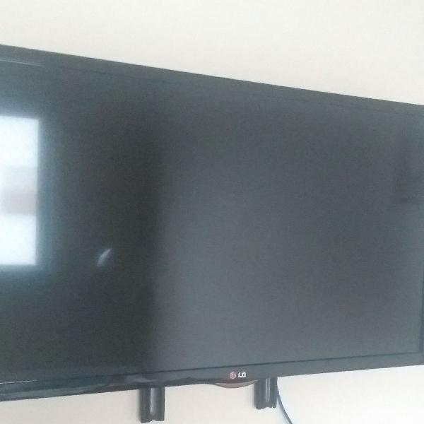 """Tv lg Smart 32"""" Preto Modelo 32LN560B (não possui wifi) -"""