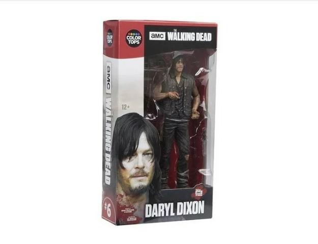 Action Figure The Walking Dead Daryl Dixon Amc Luxo