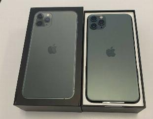 Apple iPhone 11 Pro 64GB = $500, iPhone 11 Pro Max 64GB =