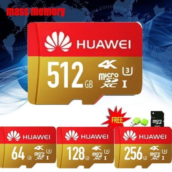 Cartão De Memoria Huawei 256 Gb 4k com adaptador