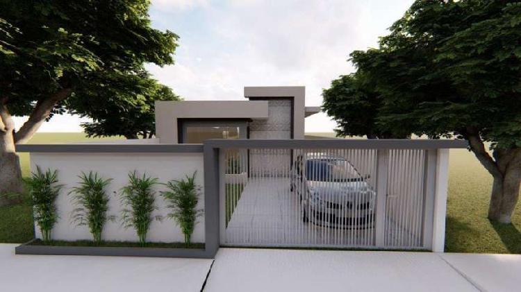 Casa de condomínio para venda tem 75 metros quadrados com 3
