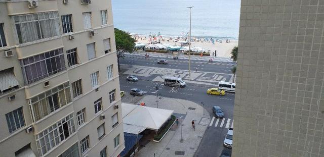 Copacabana Posto 6 Temporada quadra da Praia Vista Mar