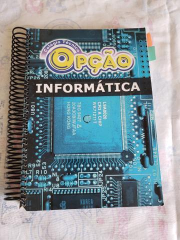 Livro didático de informática (1 ano técnico do colégio
