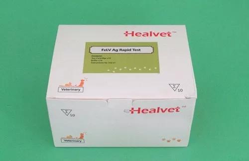 Teste Rápido Veterinário Felv Ag - Caixa Com 10