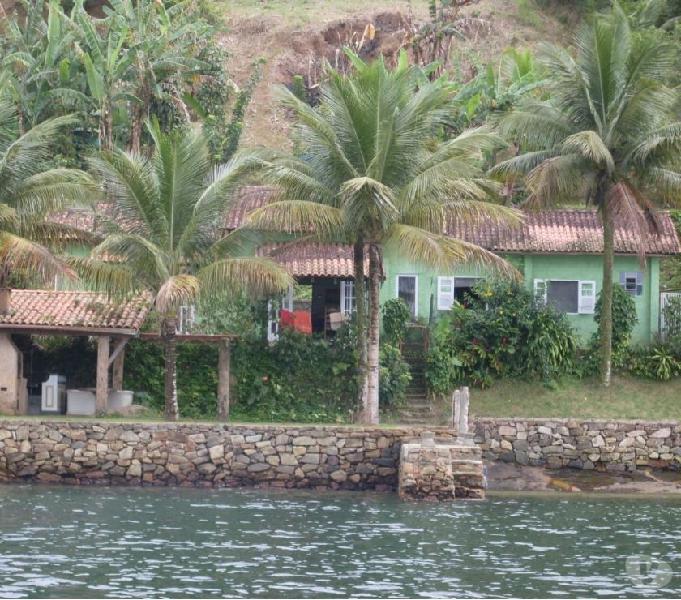casa 02 dormitórios ilha Caiera Angra dos Reis - RJ