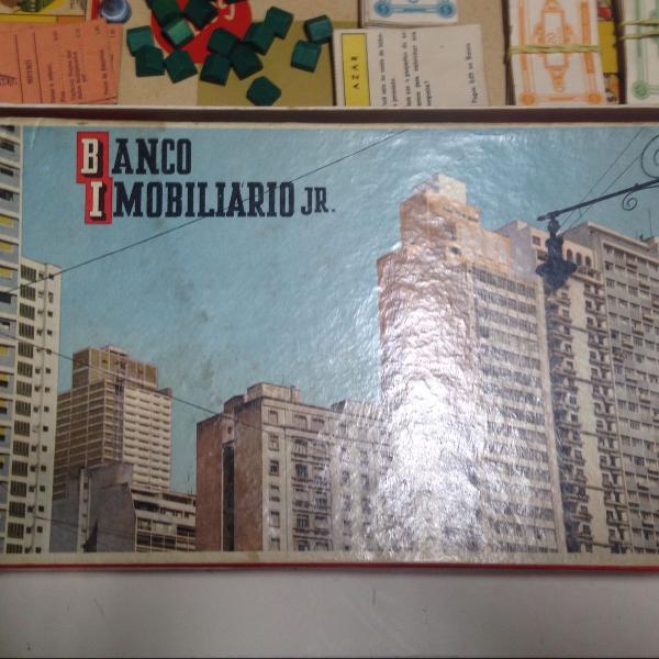 jogo banco imobiliário junior década de 60