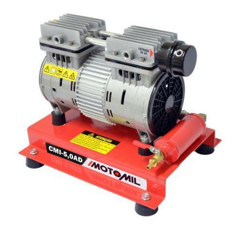 Compressor Ar Direto Bomba de ar 1HP Isento de Óleo 5pcm