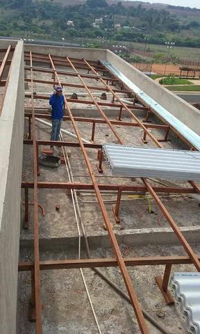 Conserto de telhado e rufo em geral