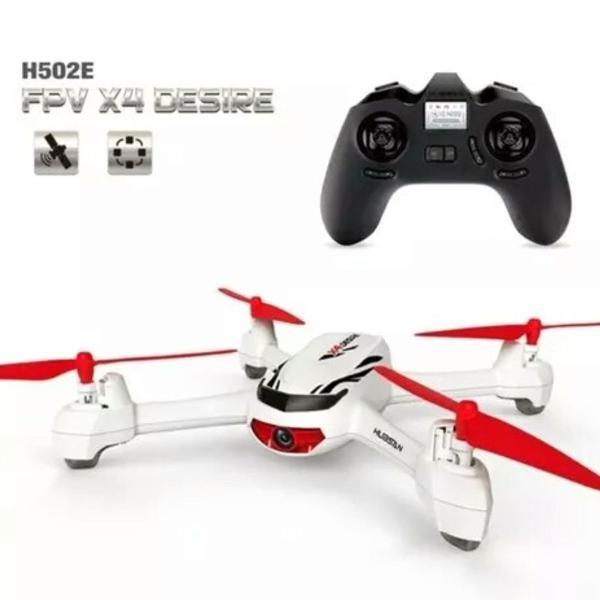 Drone hubsan x4 h502e camera hd modo gps altitude hold