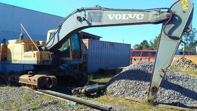 Escavadeira Volvo EC210 2009 desmontada para peças