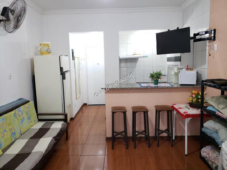 Kitnet para Venda em Guarujá, Pitangueiras, 1 dormitório,
