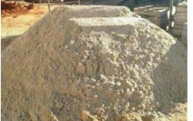 Materiais areia lavada brita tijolos para consturção