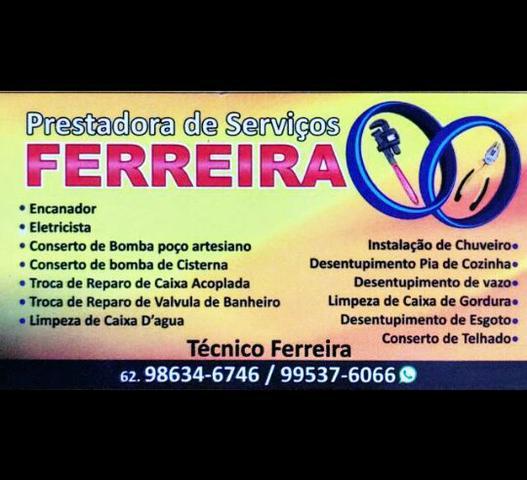 Prestadora de Serviços Ferreira - 24hs - Encandor