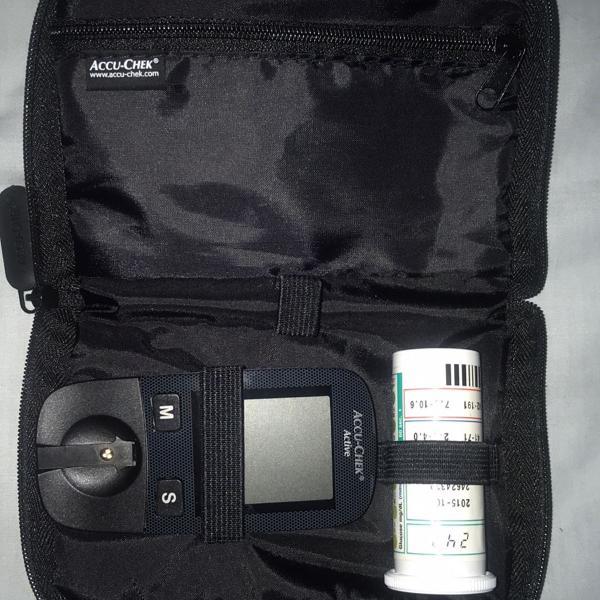 aparelho de verificar glicose