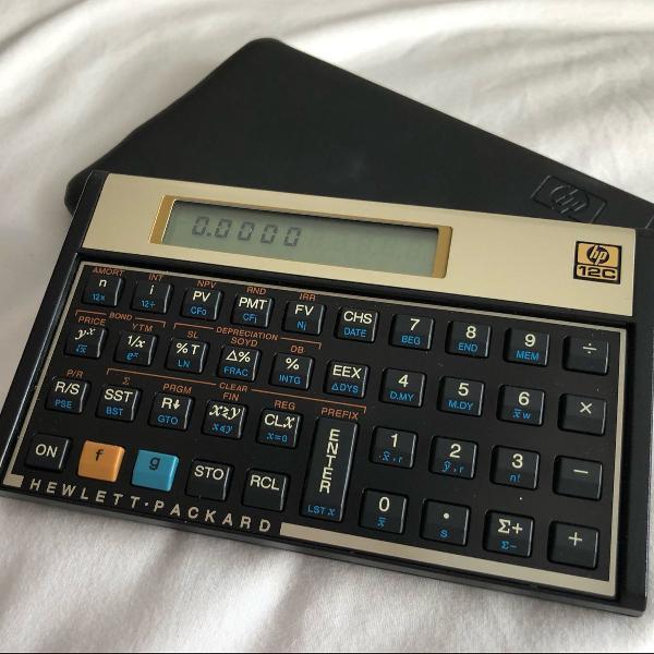calculadora financeira 12c gold hp