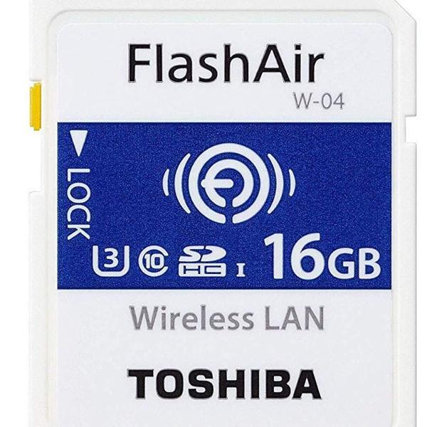 cartão de memória wifi (16 gb)