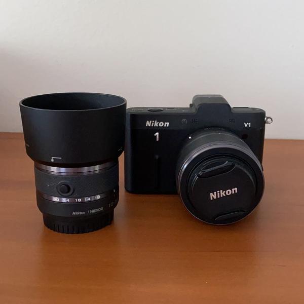 câmera fotográfica nikon v1