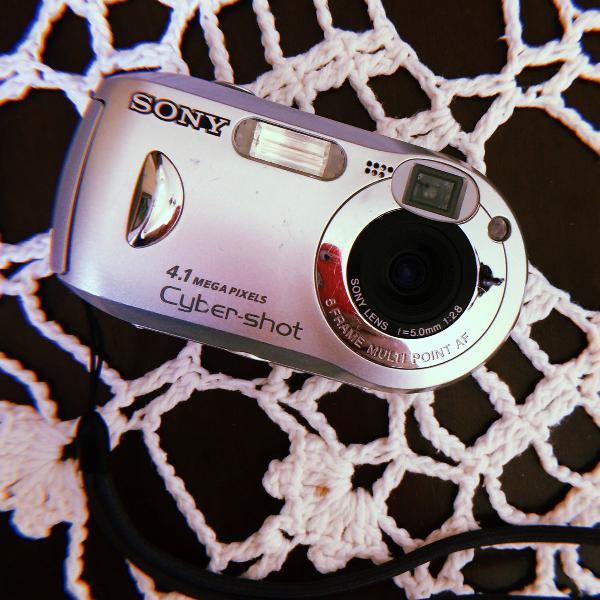 câmera sony cibershot para retirada de peças