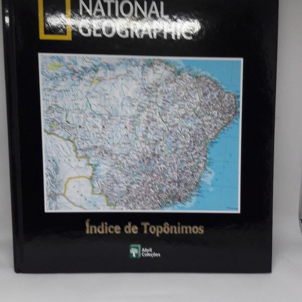 coleção atlas da national geographic com 26 volumes