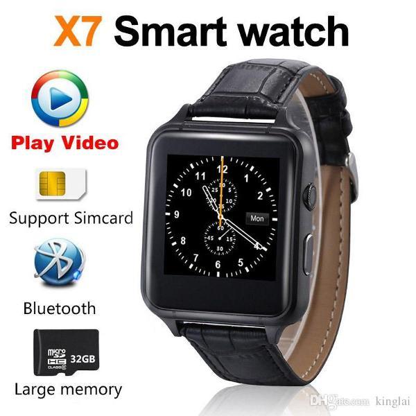 relogio inteligente smartwatch original x7 black