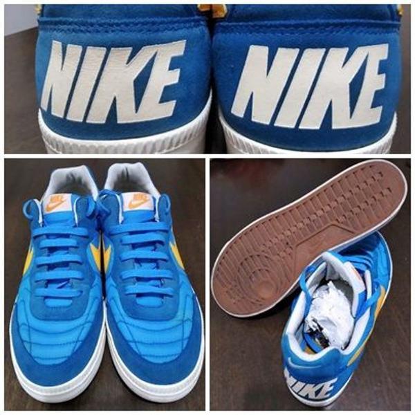 tênis nike azul