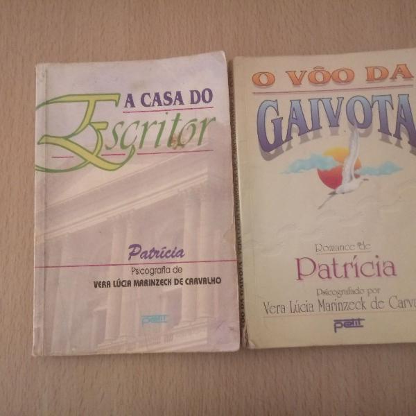 2 livros A Casa do Escritor e O vôo da Gaivota