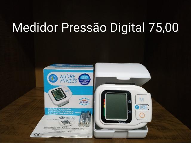 Aparelho Medidor de Pressão 75,00 - Oxímetro 70,00 - NOVO