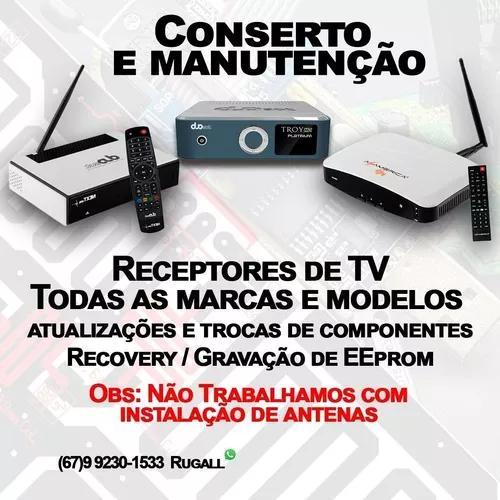 Assistência Técnica - Receptores De Tv A Cabo