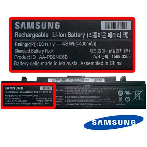 Bateria de Notebook Samsung RV420 Original