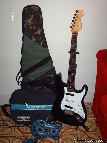 Guitarra Fender Stratocaster Standard Ano 93 + V-Amp 2 Otimo
