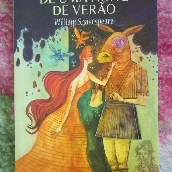 """Livro """"Sonho de uma noite de verão"""" por William Shakespeare"""