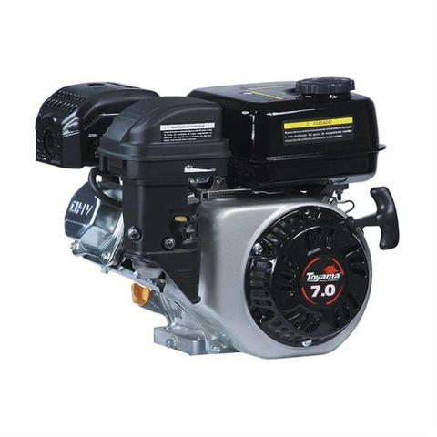 Motor A Gasolina 4T 7Hp 210cc Refrigeração a ar TE70