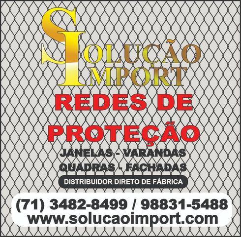 Rede de Proteção para Janelas - Direto de Fábrica (Pronta