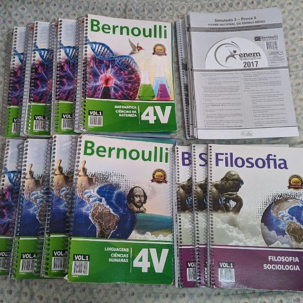 apostilas Bernoulli do vestibular