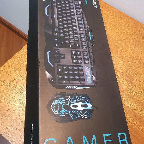 kit mouse e teclado gamer