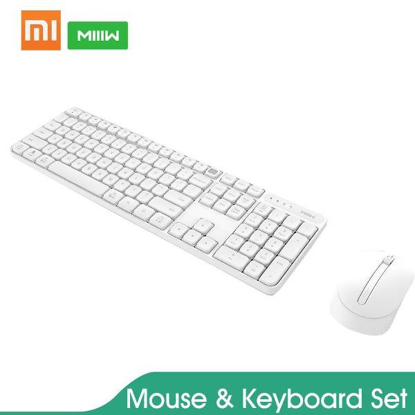 kit xiaomi teclado e mouse sem fio