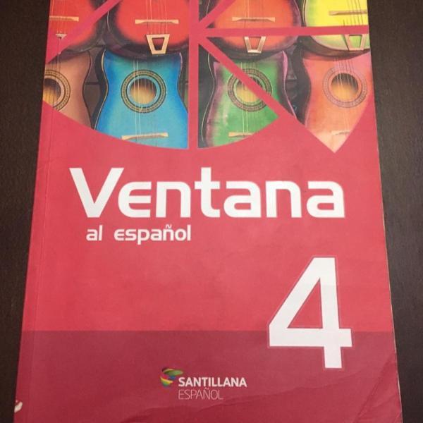 livro didático ventana 4 espanhol