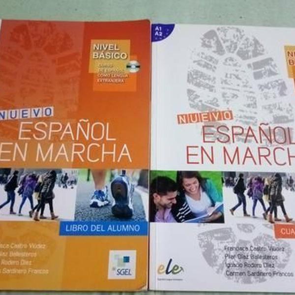 """livro """"nuevo espanol en marcha"""