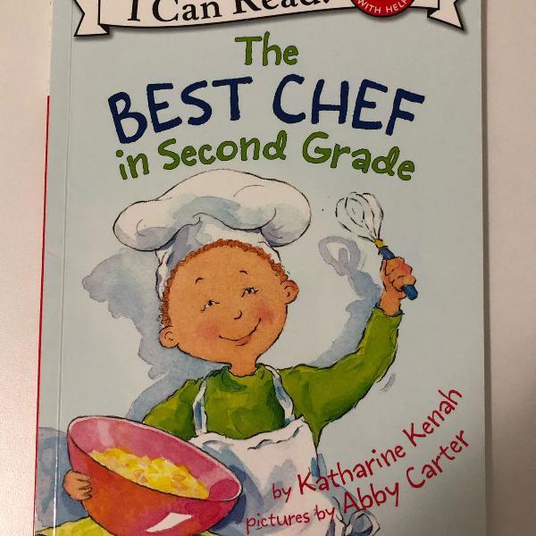 livro paradidático de inglês, título: the best chef in