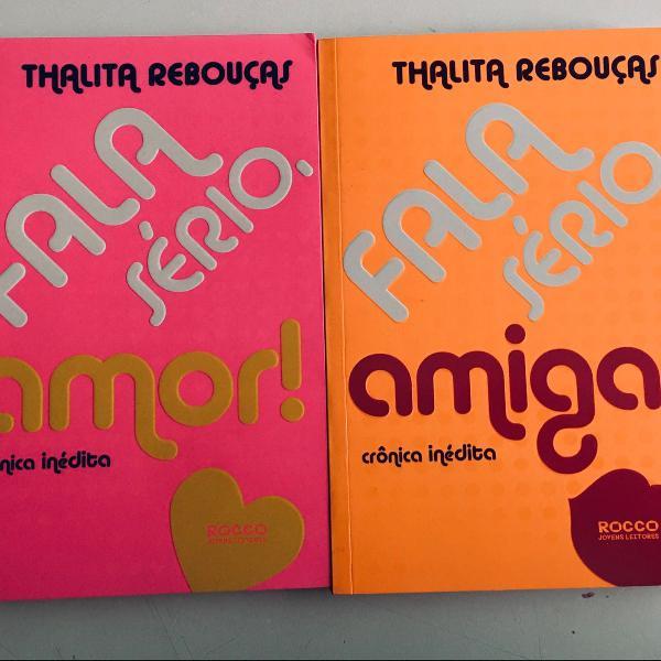 livros: fala sério, amor e fala sério, amiga